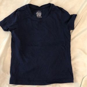 Set of 4 Solid Color Kids Tees Size 4/5